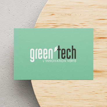 carte visite green tech marceline communication