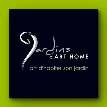 carte visite jardins art home marceline communication