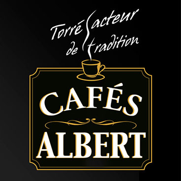 logo café albert marceline communication