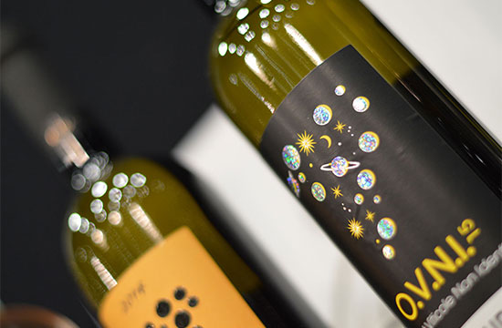 vin bouteille marceline communication graphique les sables d'olonne