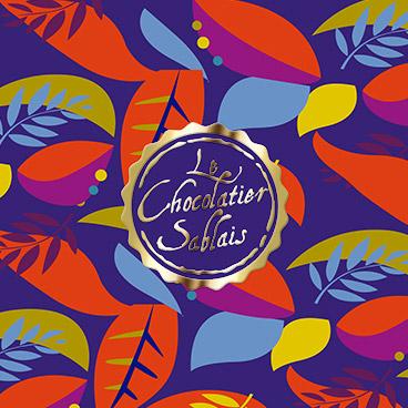 coffret boite chocolatier sablais marceline communication