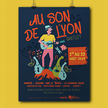 affiche au son de l'yon la roche marceline communication