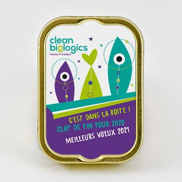 clean cells boite de sardines