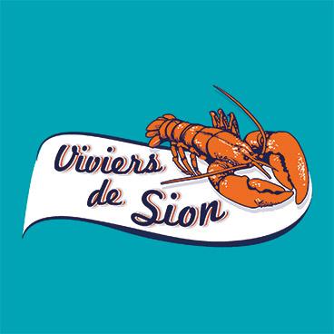 logo design viviers de sion marceline
